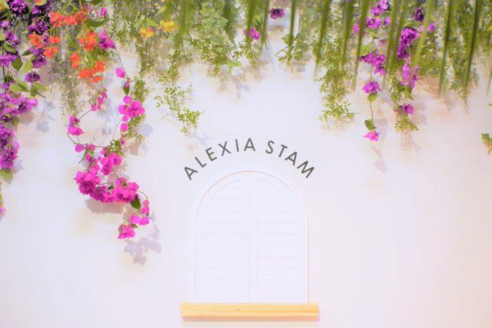 「ALEXIA STAM Limited Popup Store 2019〝SANDY MOOD″」イベント開催@SHARE GREEN MINAMI AOYAMA