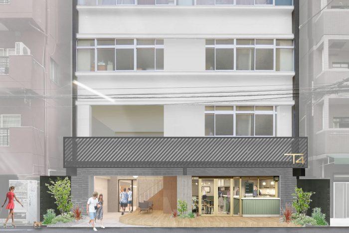 大阪難波に「T4 BUILDING OSAKA」を8月オープン、先行内覧会の募集を開始、自由なオフィス空間と働き方を地方へ推進
