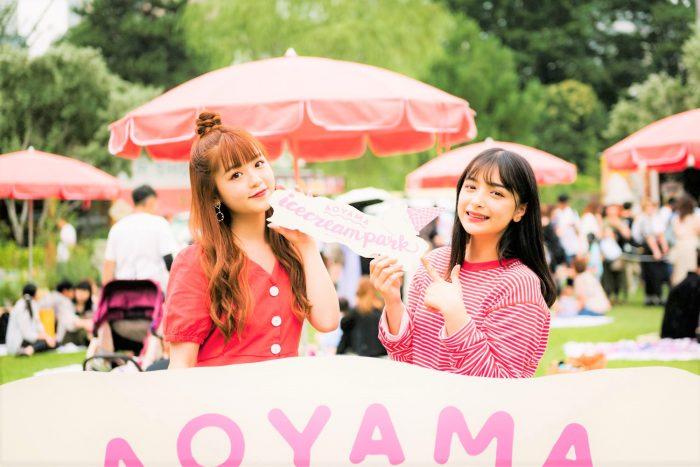 「青山アイスクリームパーク」開催<br>@SHARE GREEN MINAMI AOYAMA