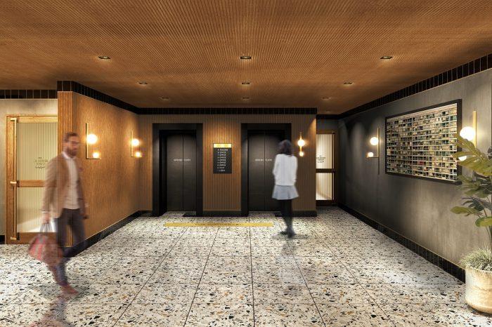 西麻布交差点のランドマークビルを「大人のインテリジェンスデザイン」をコンセプトにリノベーション 自由な空間設計が可能なオフィス、サービス店舗からなる 「KASUMICHO TERRACE」が6月オープン