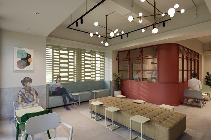 サンケイビルとリアルゲイト、協働プロジェクト始動<br>ゲストハウス型ホテル2棟をワークスペースへコンバージョン