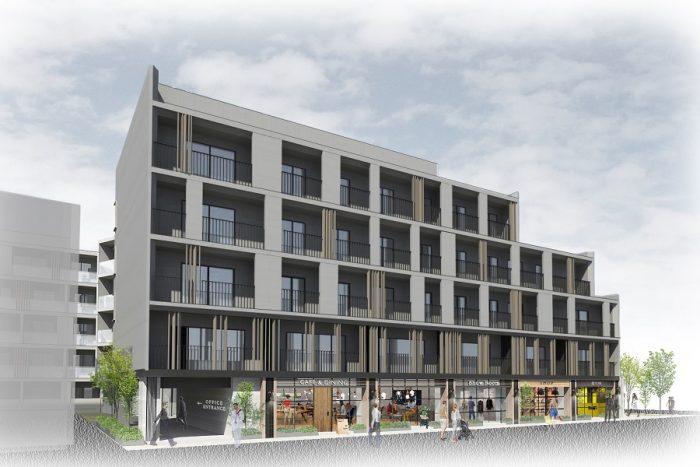 丸仁ホールディングス、東急住宅リース、リアルゲイトの3社が協働し、<br>新築複合施設「CONTRAL NAKAMEGURO」を中目黒に2021年2月オープン<br>11月19日より入居者募集開始