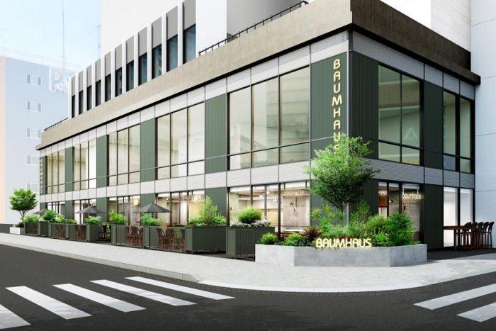 リアルゲイト、名古屋にて食の未来と新しい働き方を創造する複合施設<br>「BAUM HAUS(バウムハウス)」のトータルディレクションを行い開業を支援<br>2021年3月オープン