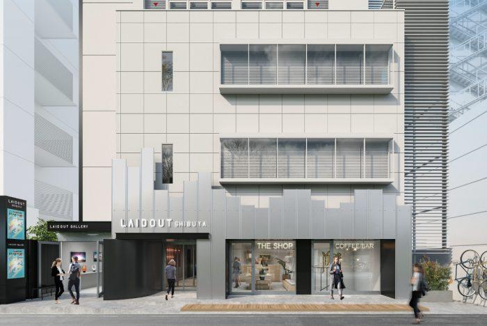 渋谷1丁目にオフィス・ショップ・ギャラリーからなるクリエイター向け複合施設「LAIDOUT SHIBUYA」が2021年4月1日グランドオープン