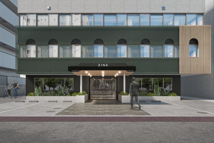 奥渋谷に2つのラウンジを持つクリエイティブオフィスが誕生 「ZINE YOYOGI-KOEN」2021年9月オープン