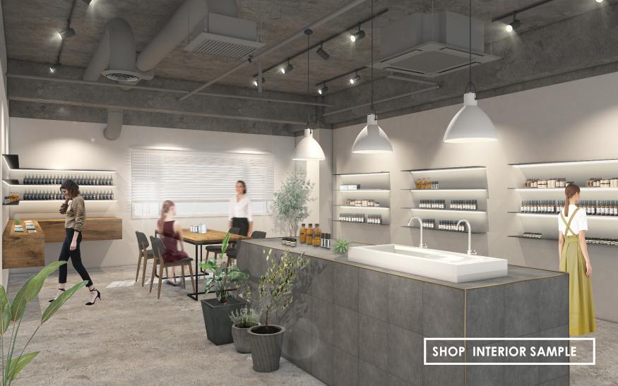 Shop Interior Sample