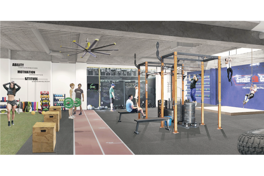 B1F Gym-use Design Sample