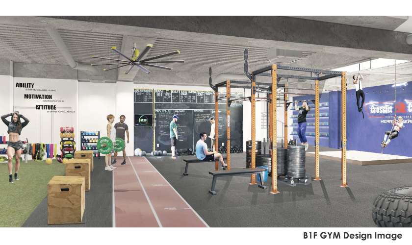GYM Design Sample