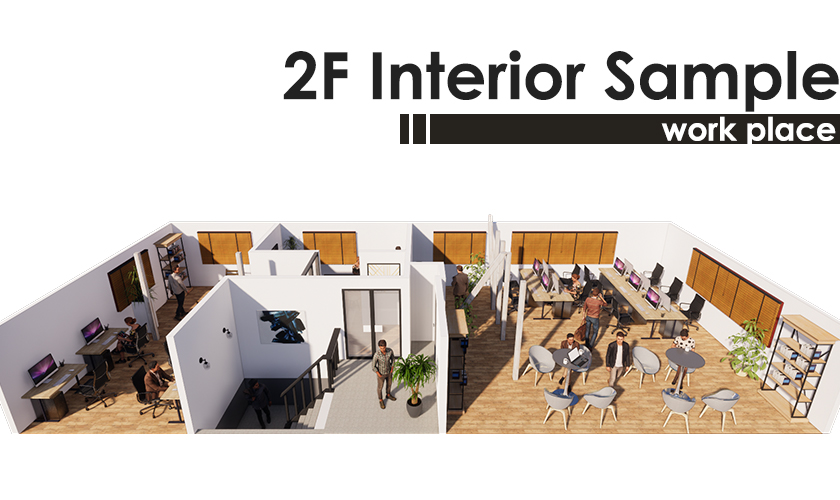 2F Interior Sample Image-work place-