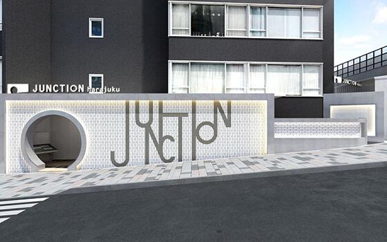 JUNCTION harajukuの外観