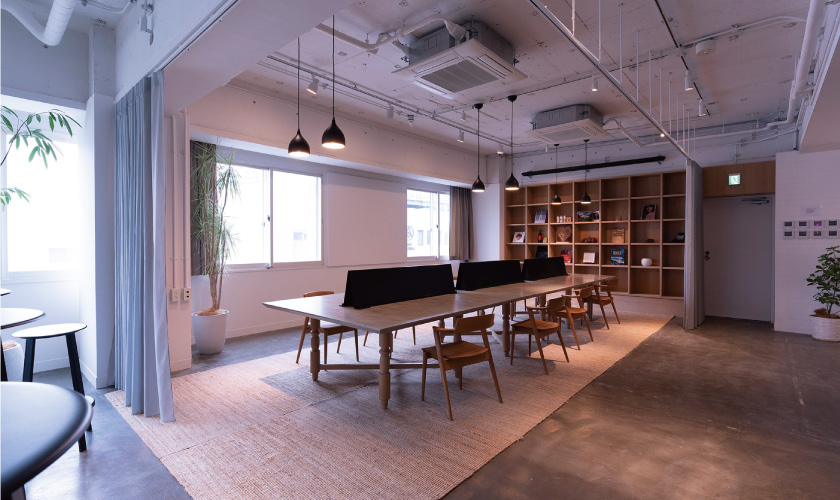 Free Desk Space